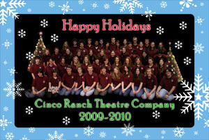 Theatre Company Greeting Card Screenshot